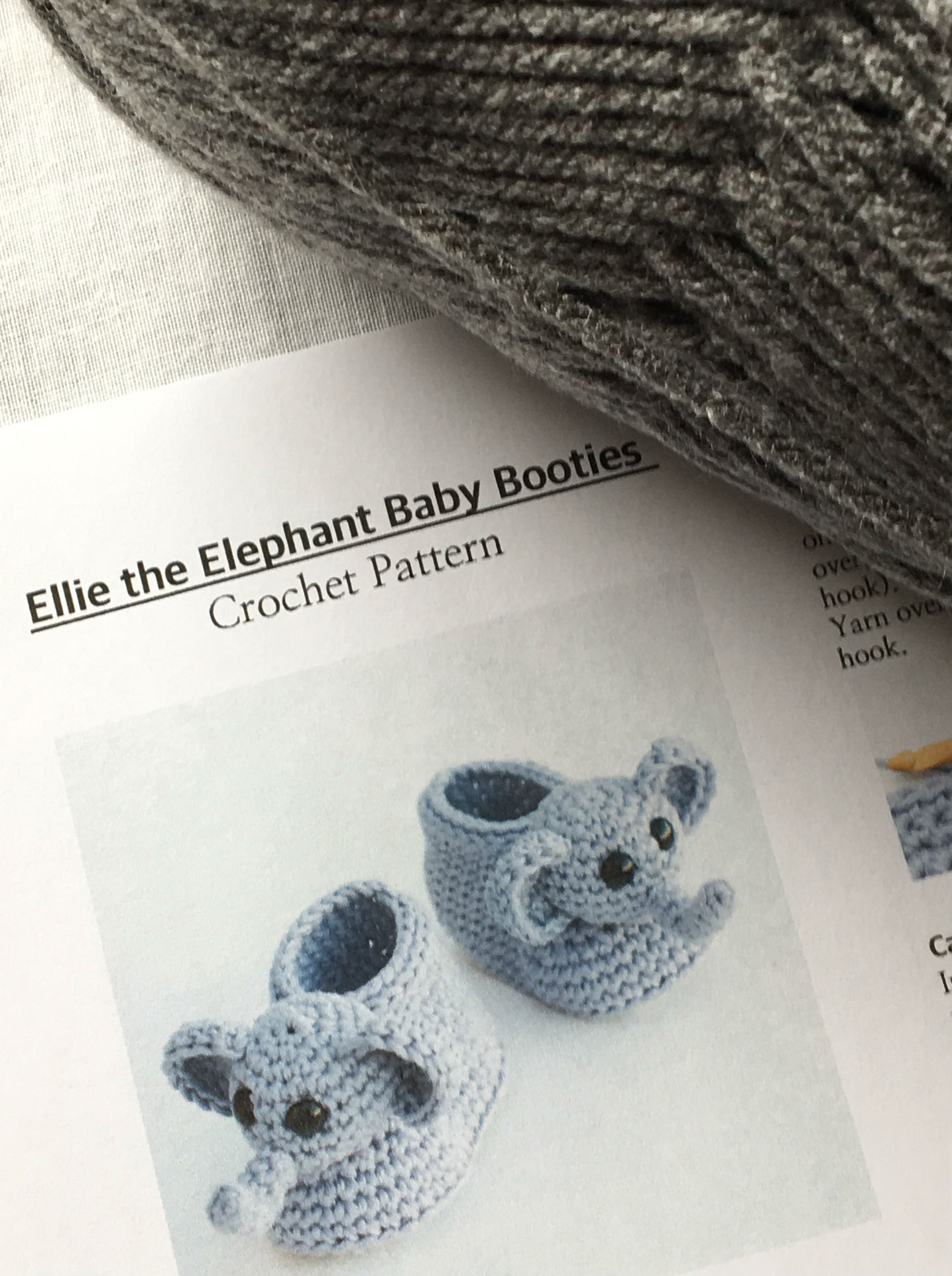 Elephant Collection: Baby Booties