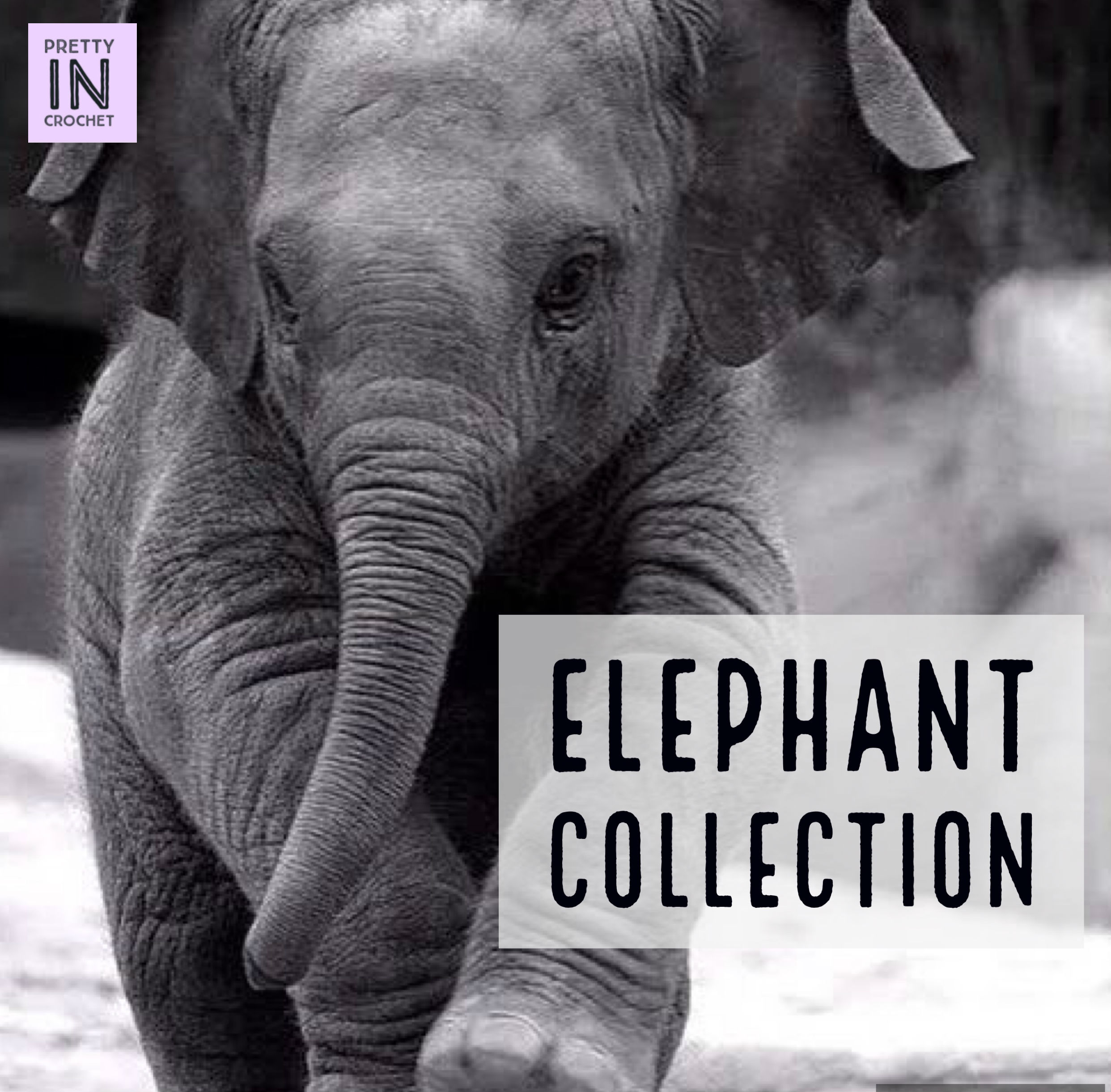 Elephant Collection: Hat and Diaper Outfit