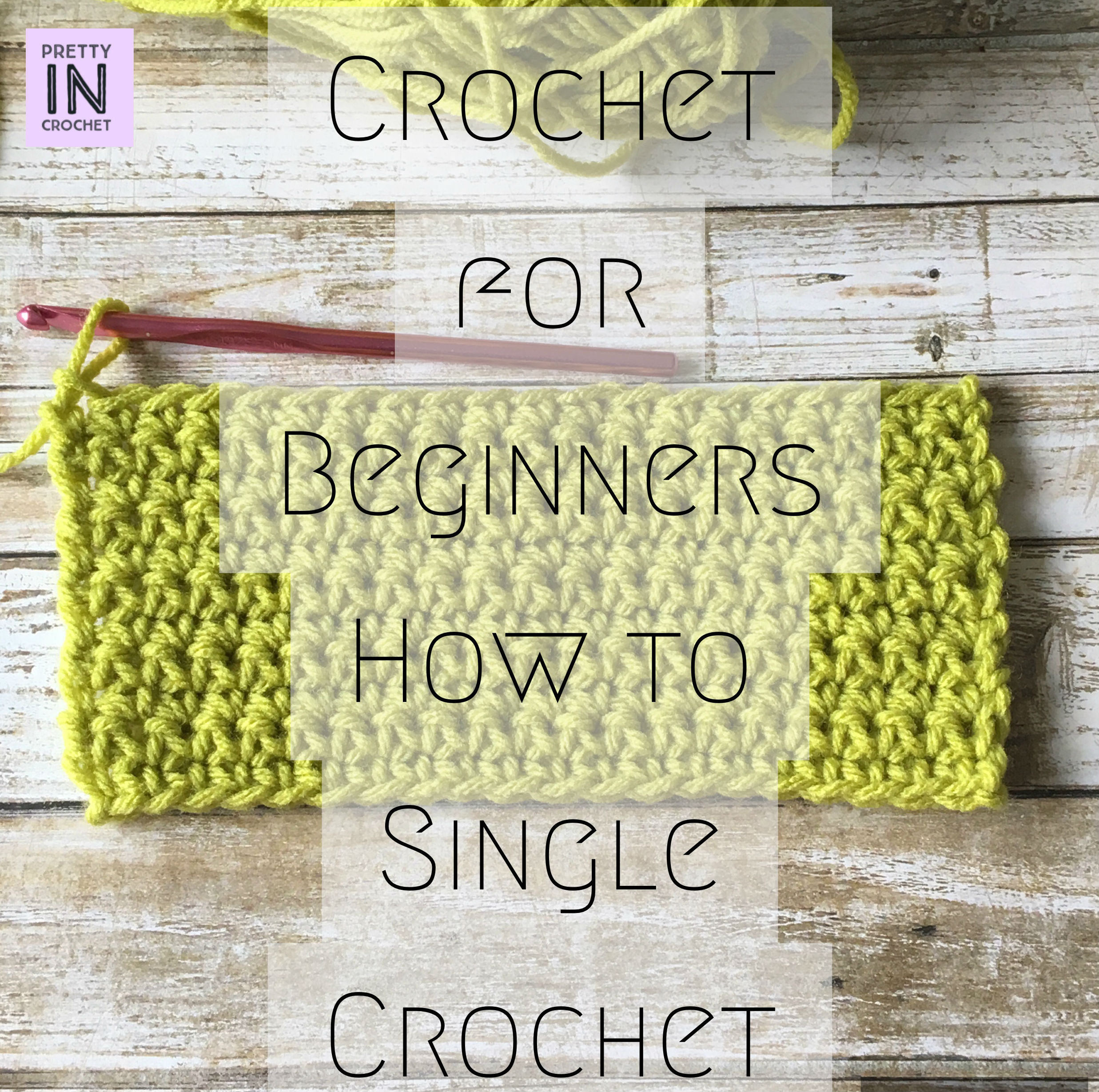 How to Crochet the Single Crochet