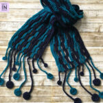 Ocean Waves Scarf: Free Pattern