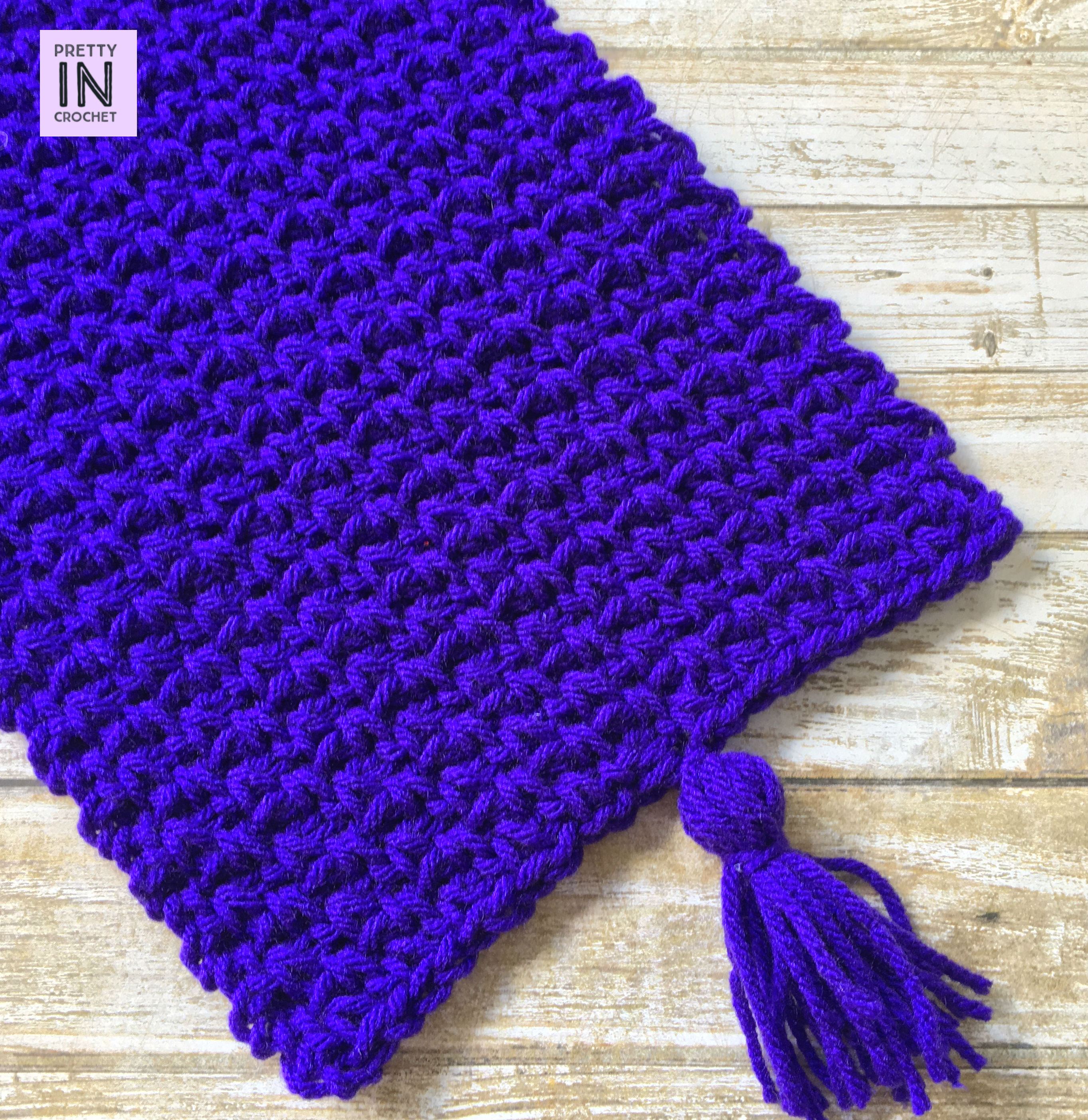 Great Grape Scarf: Free Pattern