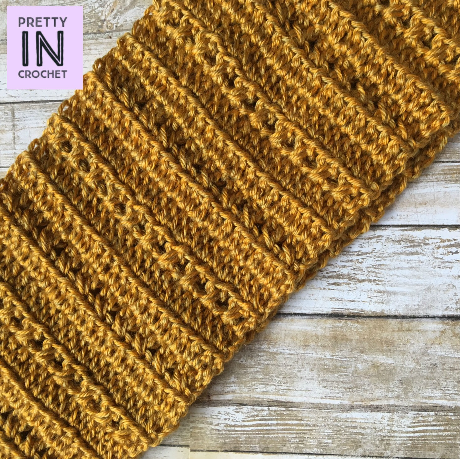 Goldenrod Cowl: Free Pattern