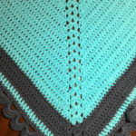 Blue Grey Lace Shawl: Project