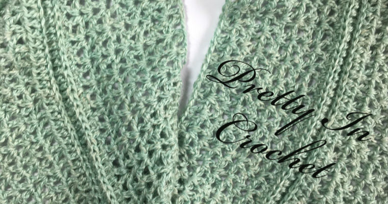 Seafoam Cowl Wrap: Sunny Days Crochet Collection