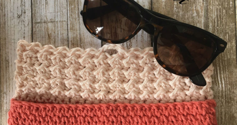 Crochet Sunglasses Case: Sunny Days Crochet Collection