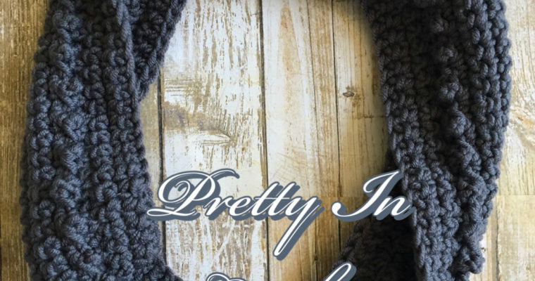 Popping Gray Cowl: Free Pattern