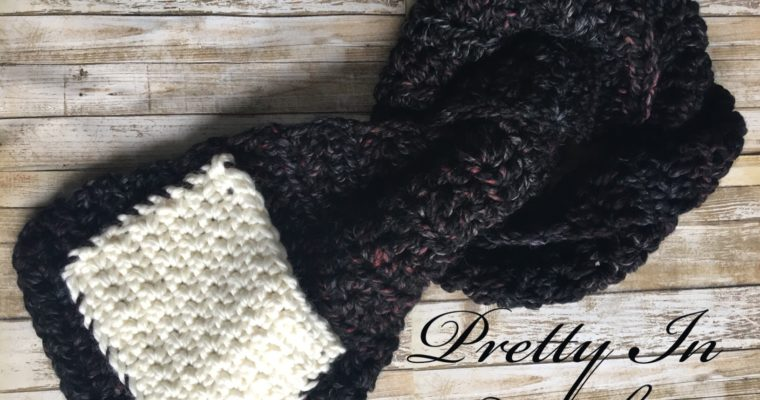 Granite Pocket Scarf: Free Pattern