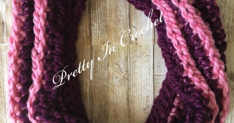 Mid-Winter Berries Cowl: Free Pattern