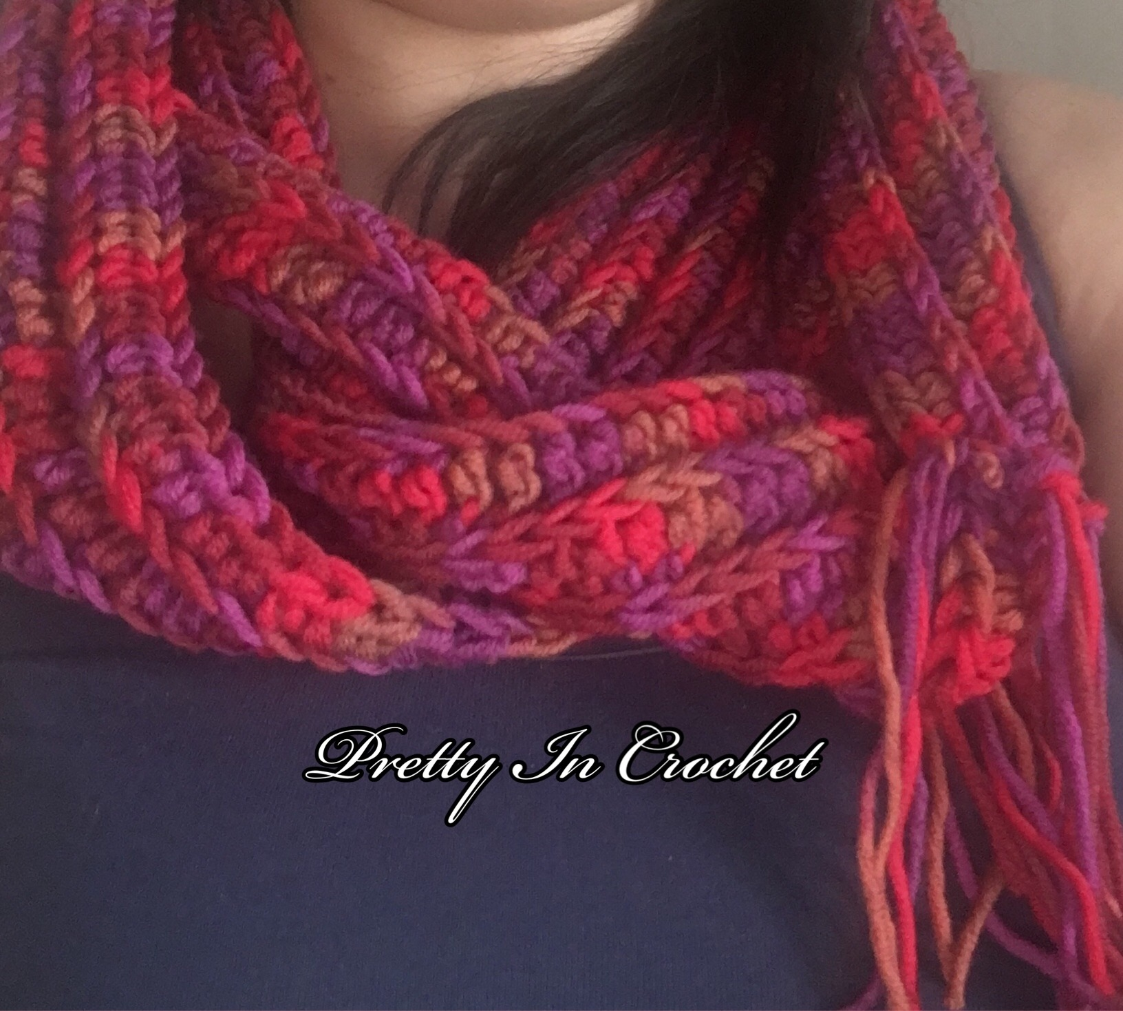 Passions Infinity Scarf: Pattern