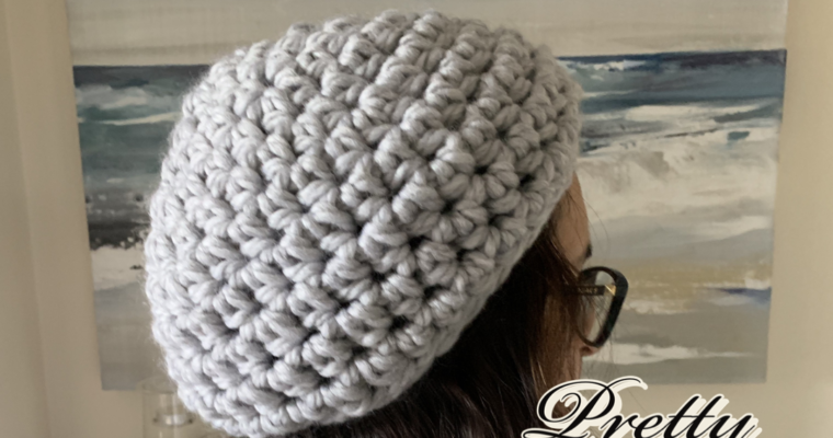 Easy Not so Beanie Crochet Beanie: Free Pattern